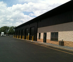 Penske warehouse painting